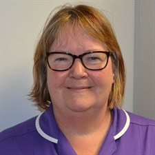 Gail Balfour, Childrens community nurse.JPG